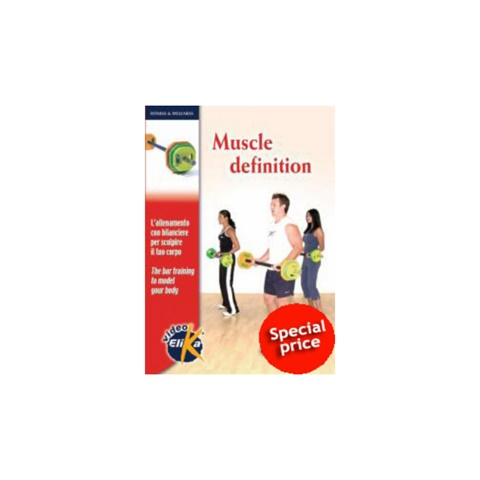 DVD MUSCLE DEFINITION ELIKA