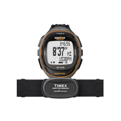 GPS IRONMAN RUN TRAINER HRM TIMEX