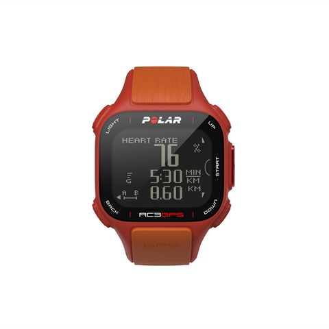 GPS RC3 CON FASCIA CARDIO ORANGE POLAR
