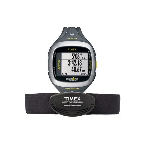 GPS IM RUN TRAINER 2.0 HRM SILGREEN TIMEX