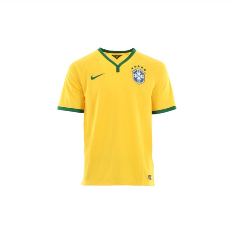 M MAGLIA BRAZIL UFF. WORLD CUP 2014 YELLOW NIKE