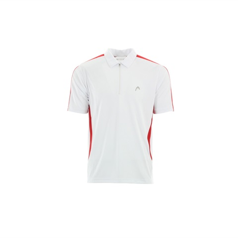M POLO MC CLUB 1/2 ZIP TENNIS HEAD