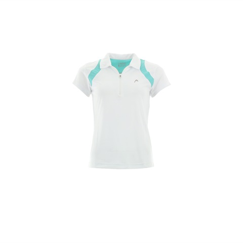 W POLO MC CLUB 1/2 ZIP TENNIS HEAD