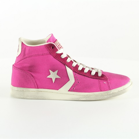 W SCARPA PRO LEATHER CVS MID FUXIA CONVERSE