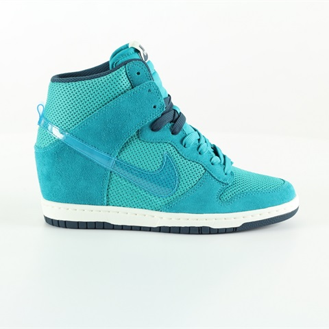 W SCARPA DUNK SKY HI ESSENTIAL WATERGREEN NIKE