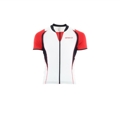 M MAGLIA MC FULL ZIP GT TEAM BRIKO