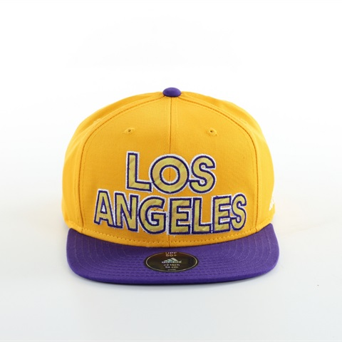 CAPPELLO VISIERA LOS ANGELES LAKERS BIG LOGO ADIDAS