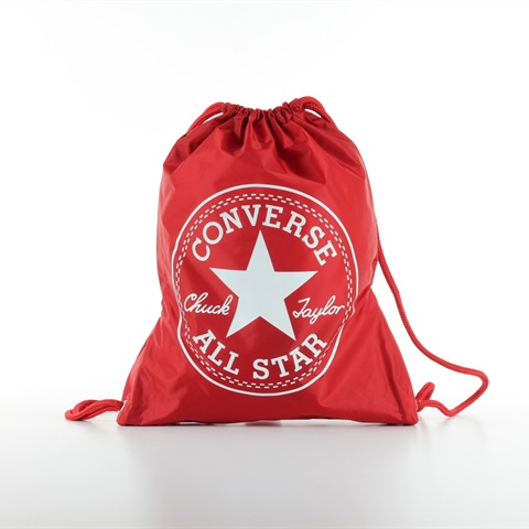 GYM SACK LOGO RED CONVERSE