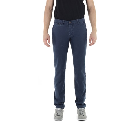 PANTALONE CHECK CHINO SUPERSLIM UOMO FIFTY FOUR