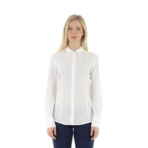 CAMICIA ODELIA IN COTONE STRETCH DONNA GUESS