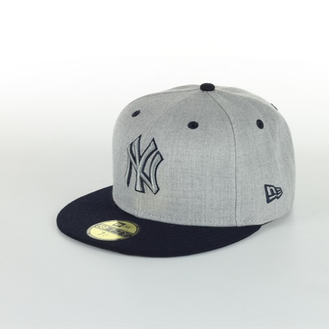 CAPPELLO NY YANKEERS 59FIFTY HEATHER TOP NEW ERA