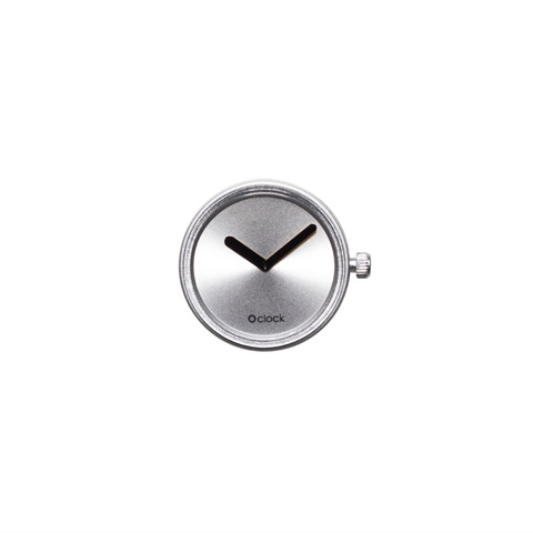 CASSA TONE ON TONE - SILVER O CLOCK