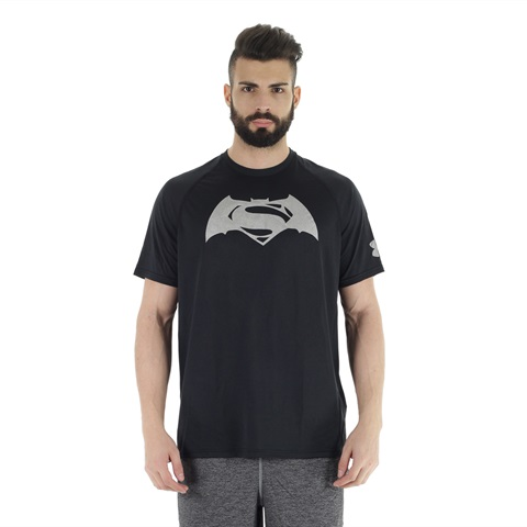 MAGLIA TRANSFORM YOURSELF SUPERMAN V BATMAN UOMO UNDER ARMOUR