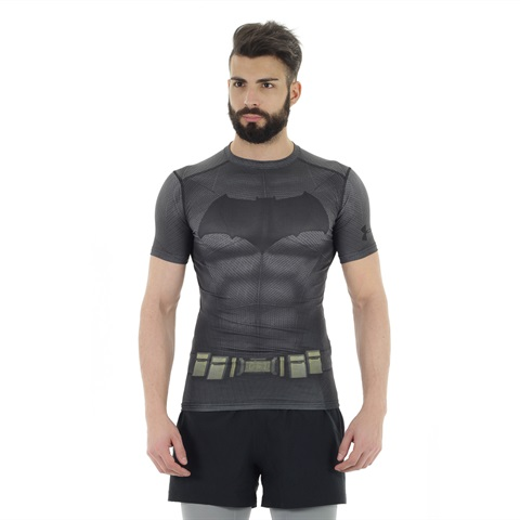 TRANSFORM YOURSELF BATMAN COMPRESSION SHIRT UOMO UNDER ARMOUR