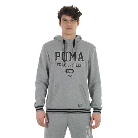 FELPA ATHLETIC HOODED SWEAT TR UOMO PUMA