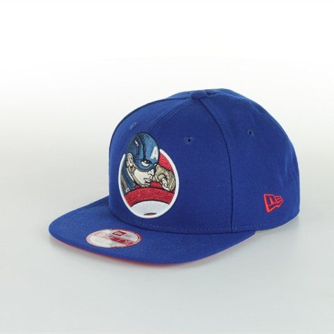 CAPPELLO RETROFLECT CAPITAN AMERICA NEW ERA