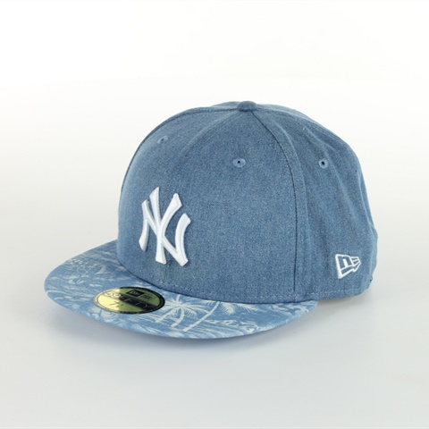 CAPPELLO NY YANKEES 59FIFTHY DENIM PALM FITTED NEW ERA