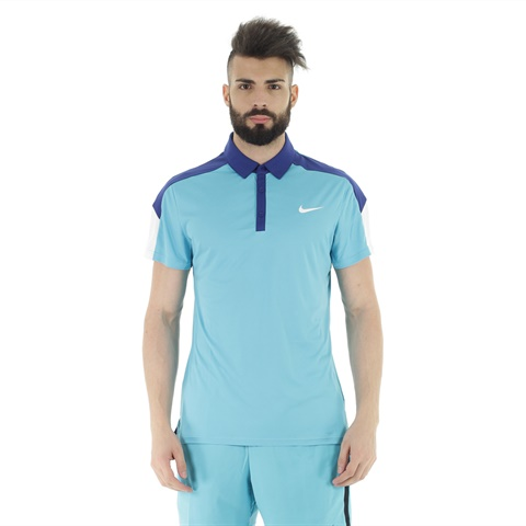 POLO TENNIS COURT BLUE UOMO NIKE