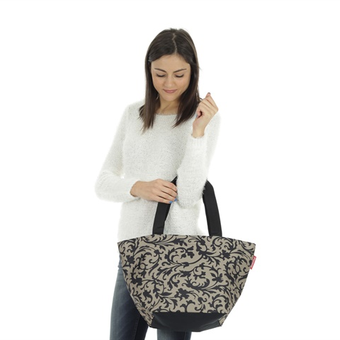SHOPPER BAROQUE TAUPE DONNA REISENTHEL