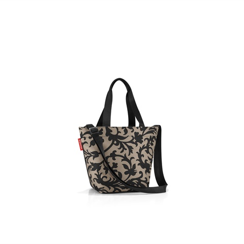 SHOPPER XS REVERSE BAROQUE TAUPE DONNA REISENTHEL