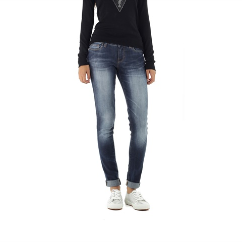 JEANS SKINNY EFFETTO USED DONNA GUESS