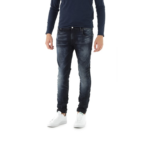 JEANS SUPER SKINNY EFFETTO USED UOMO GUESS