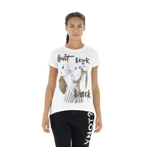 T-SHIRT STAMPA DONT BOOK DONNA YNOT?
