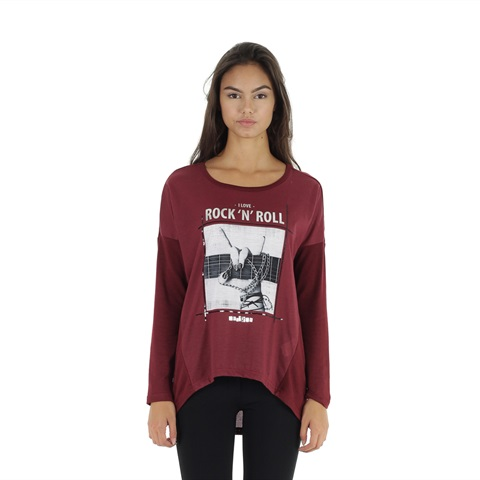 MAGLIA STAMPATA DONNA YES ZEE