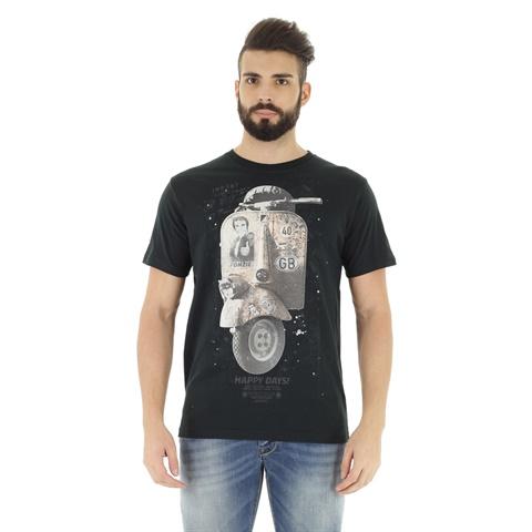 T-SHIRT STAMPA VESPA UOMO CATBALOU