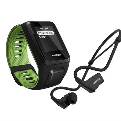 GPS RUNNER 3 CARDIO + MUSIC + HEADPHONE - TAGLIA S TOMTOM