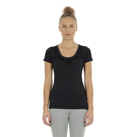 T-SHIRT STRETCH SEAMLESS DONNA CHAMPION
