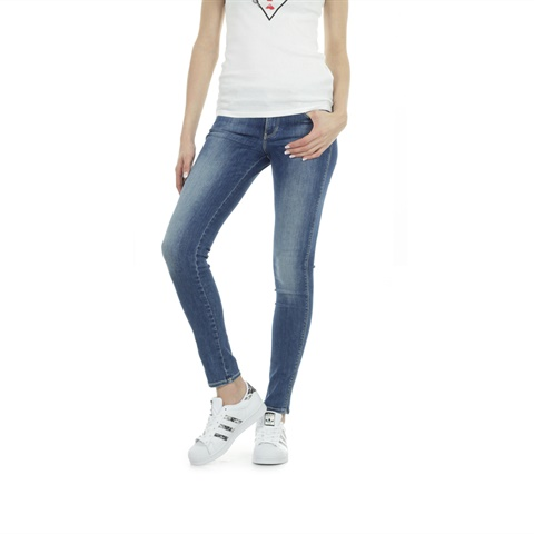 JEANS SLIM EFFETTO USED DONNA GUESS