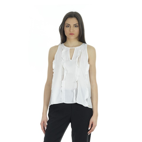 TOP INSERTI IN PIZZO DONNA GUESS
