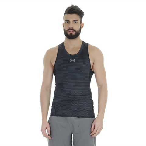 CANOTTA UA HEARTGEAR ARMOUR PRINTED COMPRESSION UOMO UNDER ARMOUR