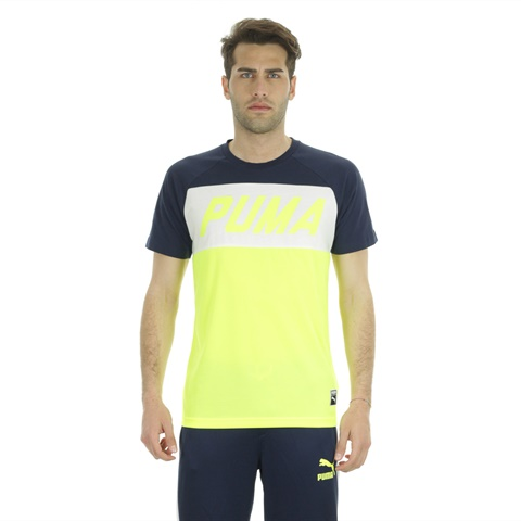 T-SHIRT ARCHIVE COLOUR BLOCK UOMO PUMA