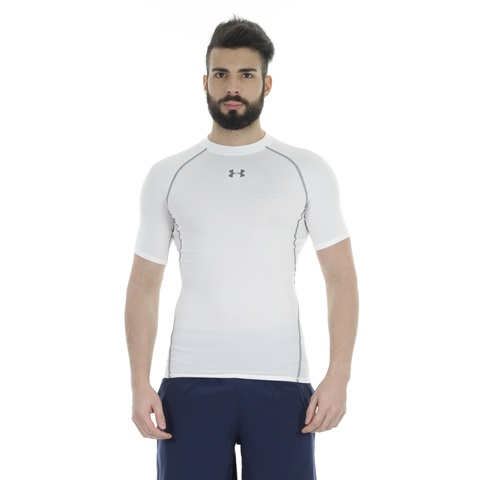 MAGLIA A MANICA CORTA HEATGEAR ARMOUR COMPRESSION UOMO UNDER ARMOUR