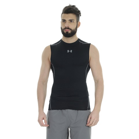 MAGLIA HEATGEAR ARMOUR SLEEVELESS COMPRESSION UOMO UNDER ARMOUR