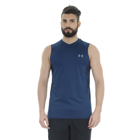 T-SHIRT SENZA MANICHE UA RAID UOMO UNDER ARMOUR