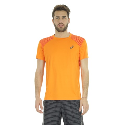 T-SHIRT FUZEX ORANGE UOMO ASICS