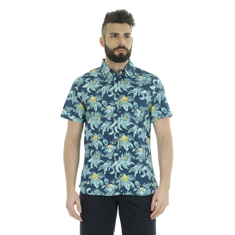CAMICIA BEACH GRAPHIC FLOWER UOMO BLEND