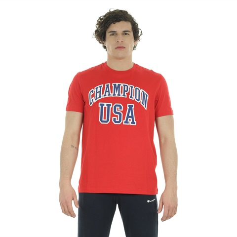 T-SHIRT AUTHENTIC USA UOMO CHAMPION
