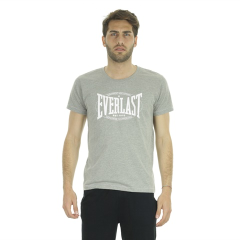 T-SHIRT BASIC LOGO BIG UOMO EVERLAST
