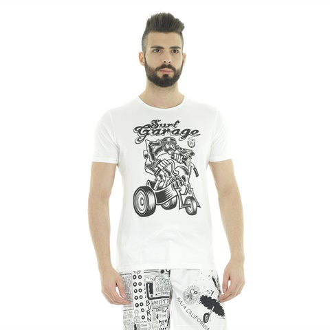 T-SHIRT STAMPA GARAGE UOMO SCORPION BAY