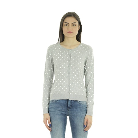 CARDIGAN DOTTED KNITTED DONNA ONLY