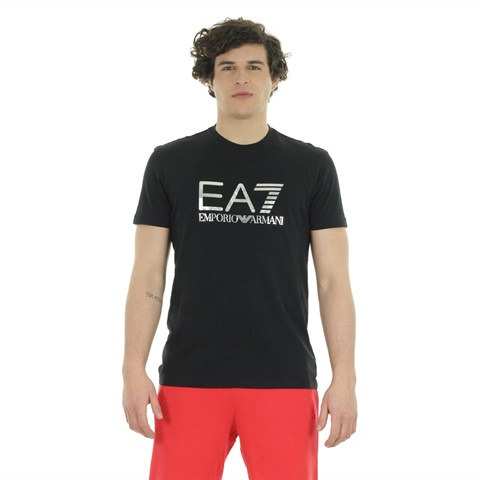 T-SHIRT GRAPHIC LOGO METAL UOMO EA7