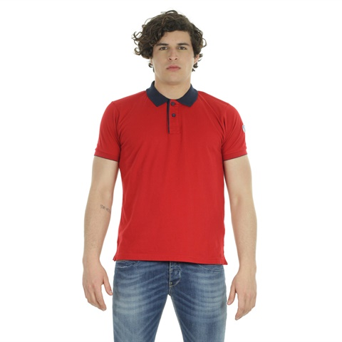 POLO SHORT SLEEVE WITH PATCH UOMO NORTH SAILS