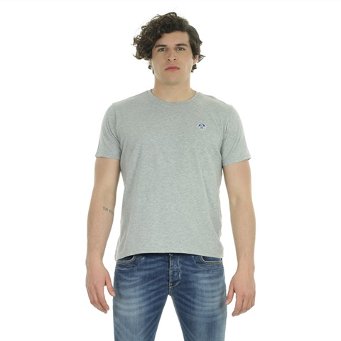 T-SHIRT WITH PATCH UOMO NORTH SAILS