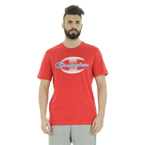 T-SHIRT AUTHENTIC LOGO UOMO CHAMPION