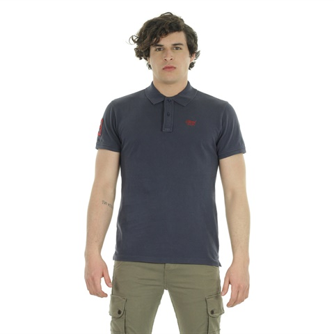 POLO PIQUET FLAG UOMO BLEND