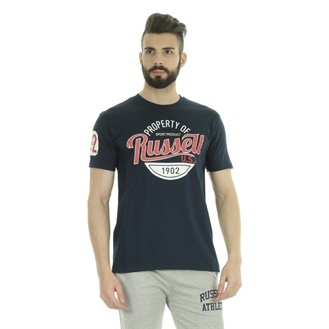 T-SHIRT GRAPHIC LOGO UOMO RUSSELL